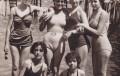 Ondine al lido Fontanelle di Gallipoli nel 1956