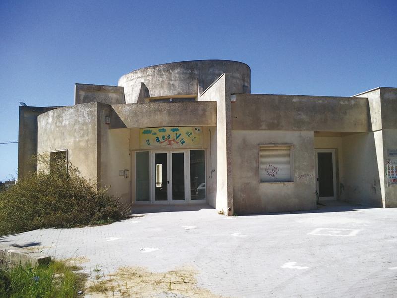 il centro Caritas di via Tagliamento