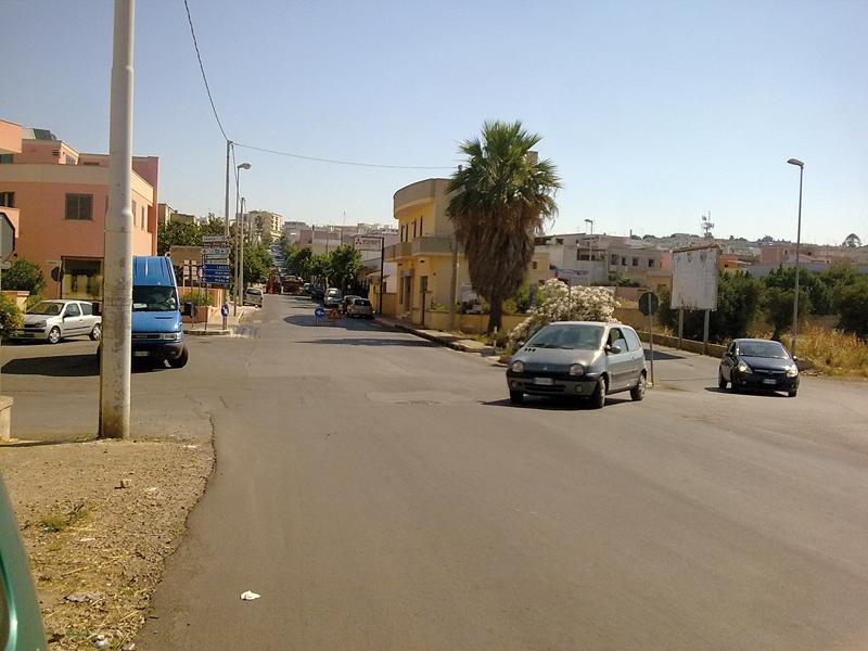 lavori tra via Solferino e via Cisternella