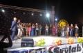 i cantanti sul palco nell'edizione note d'estate 2012 - matino