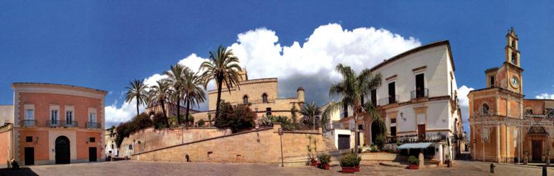 piazza umberto I panoramica