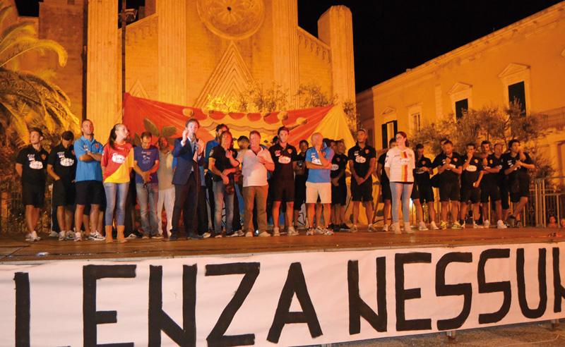 Gallipoli calcio presentazione squadra foto Cristina Casole