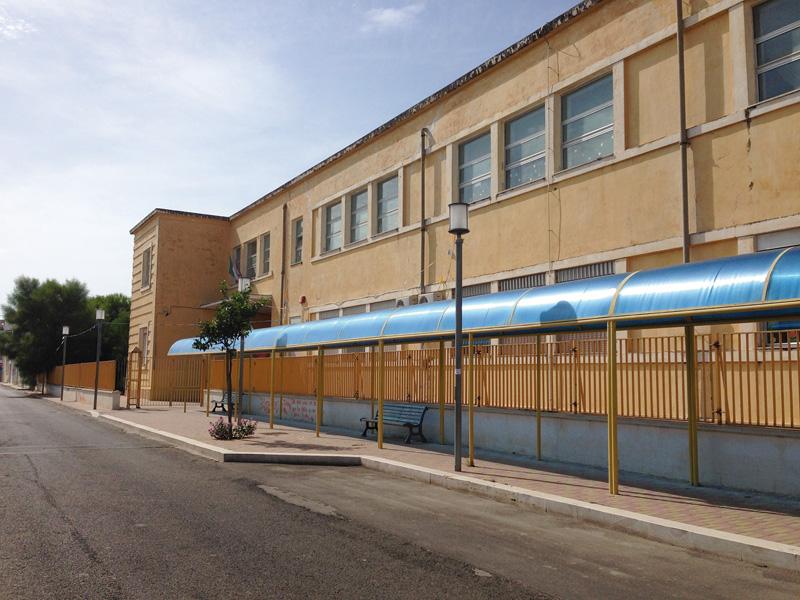 l'istituto di via Montello