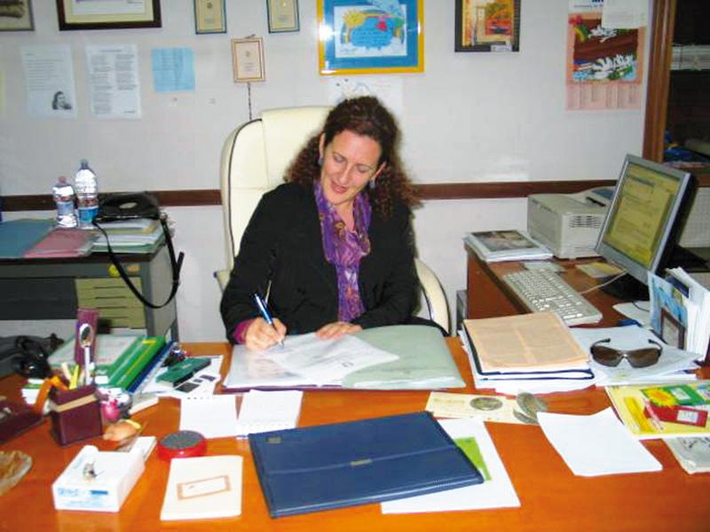 Adele Polo direttrice scuola primaria galatone