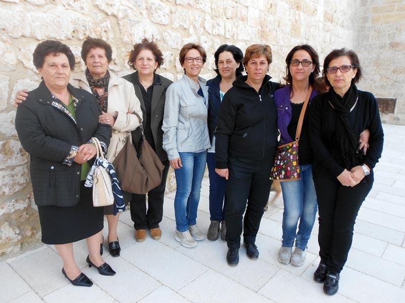 Il comitato della festa tutto al femminile