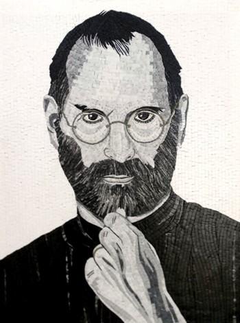 ditta-egram-mosaico-Steve-Jobs-matino