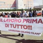 filanto protesta a lecce - casarano
