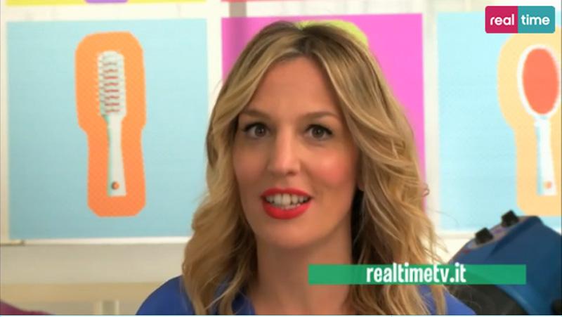 Irene Greco nella prima puntata di Hairstyle su Realtime