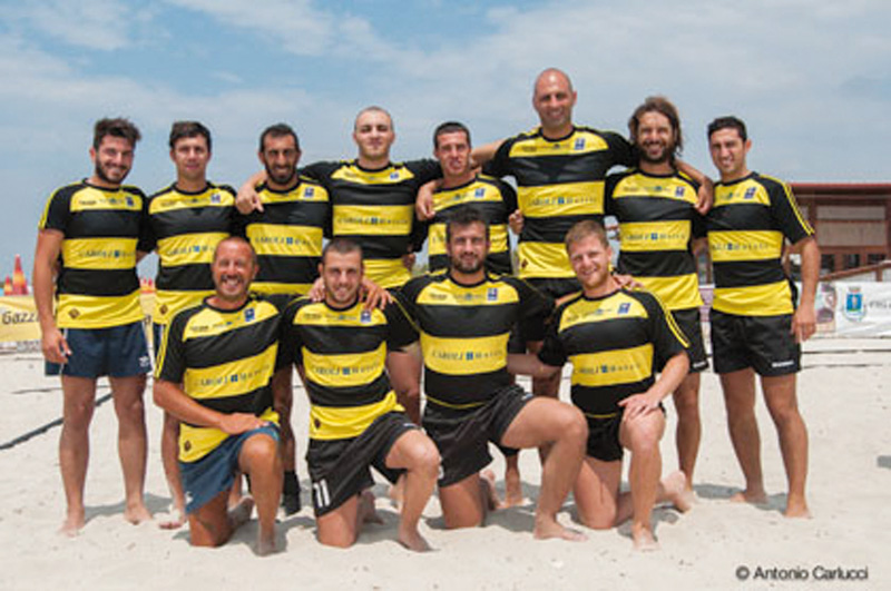 rugby aradeo finale Magna Grecia beach rugby cup 2013 aradeo