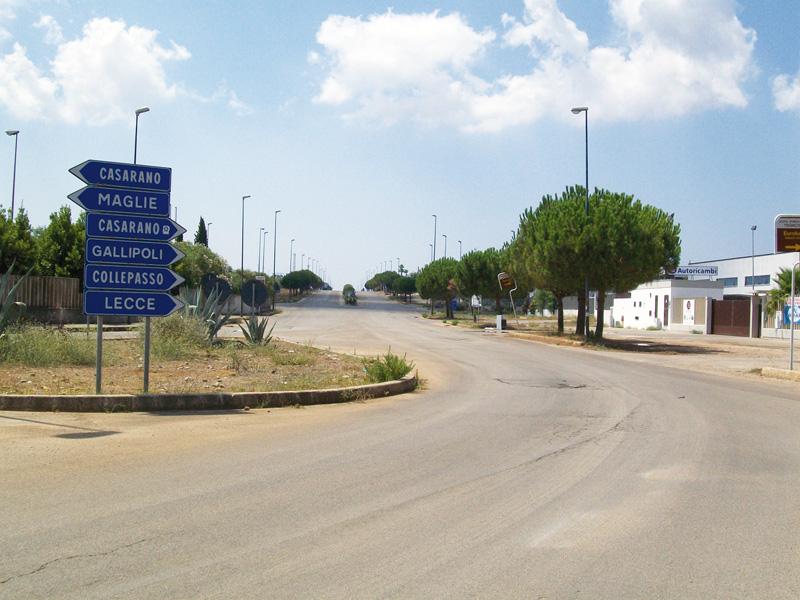zona industriale - viale casarano