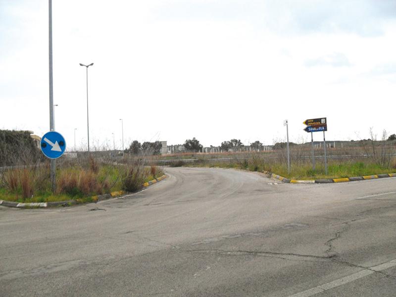 ingresso della zona industriale