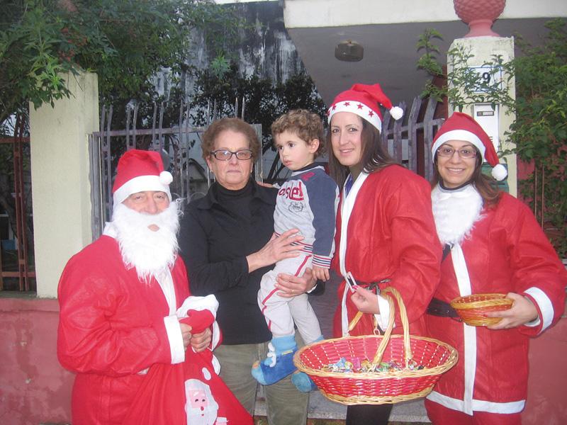 Volontari Misericordia - Natale 2012