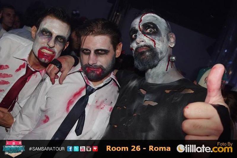 halloween al Samsara - Roma