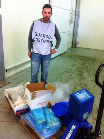 sequestro prodotto ittico