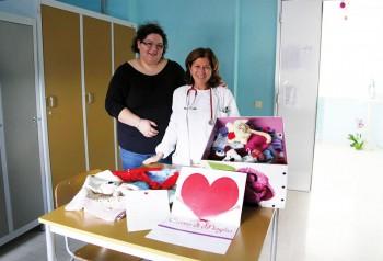 Elvira Fedele e la dottoressa Pulito