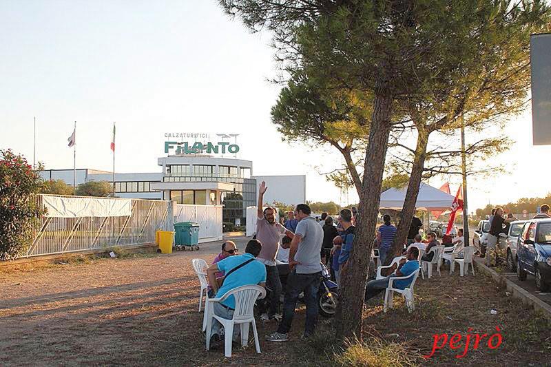 filanto sit.in 24.9.2013 foto Pejro - casarano