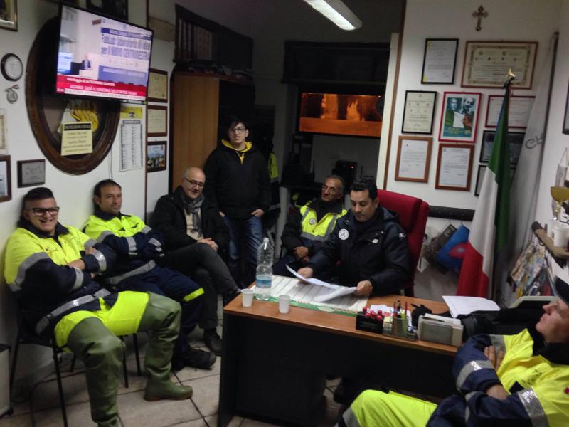 protezione civile taviano