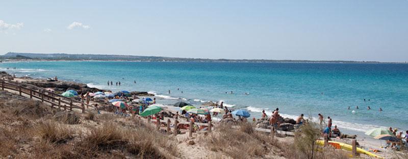 Il litorale sud di Gallipoli