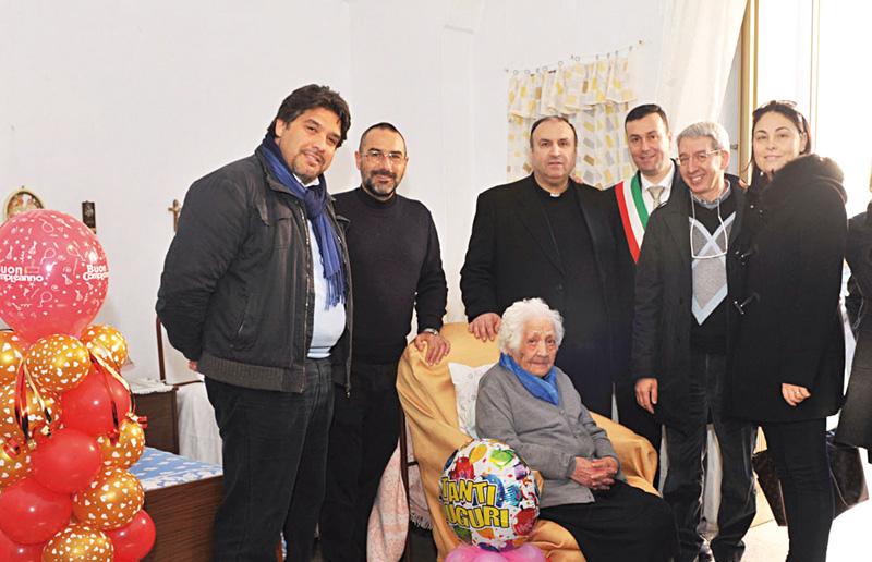 Lucia Pizzolante centenaria