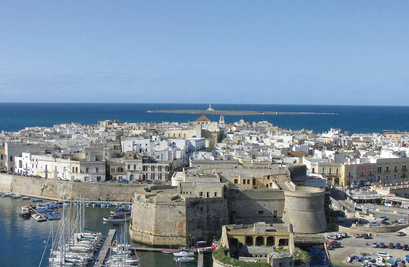castello dall'alto - foto Pejro - gallipoli (1)