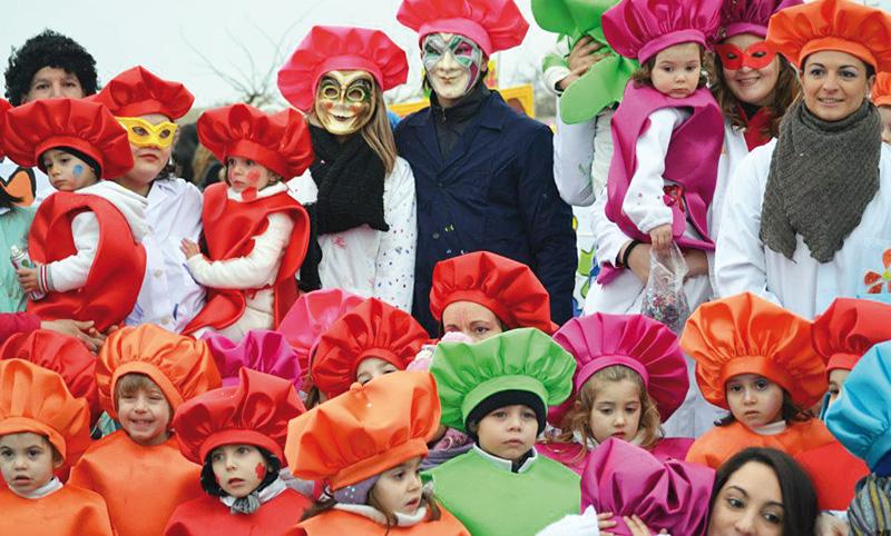 Carnevale, gruppo vincitore  2013
