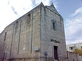 Ex Chiesa di Sant Antonio, adesso centro polifunzionale Quintino Scozzi melissano