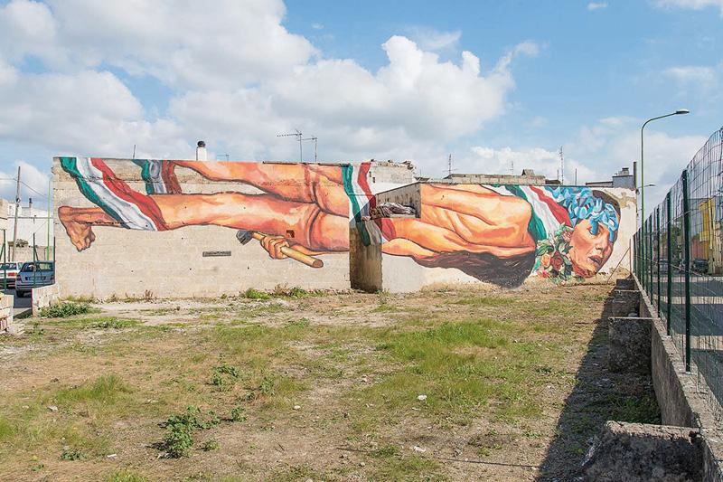 Murales di Ever (foto Matteo Bandiello)