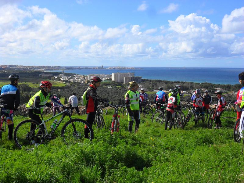 """""""Free bike tour del Salento"""" nella tappa di San Mauro del 2 marzo 2014"""