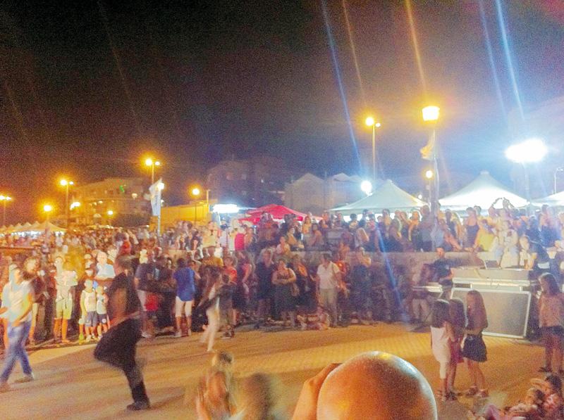 Festa dei pescatori agosto 2012 lungomare Galilei