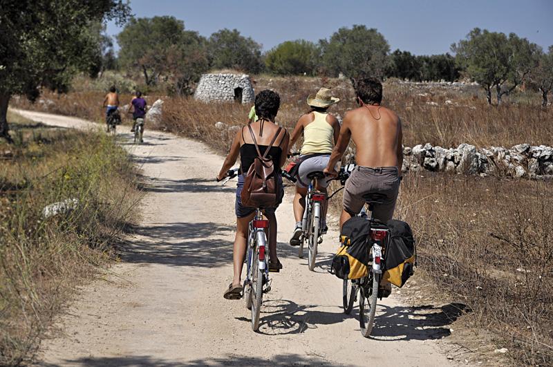 salento bici tour - campagne intorno a Leuca - casarano