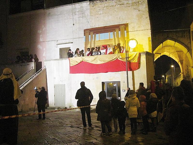 L'edizione 2013 in piazza Municipio