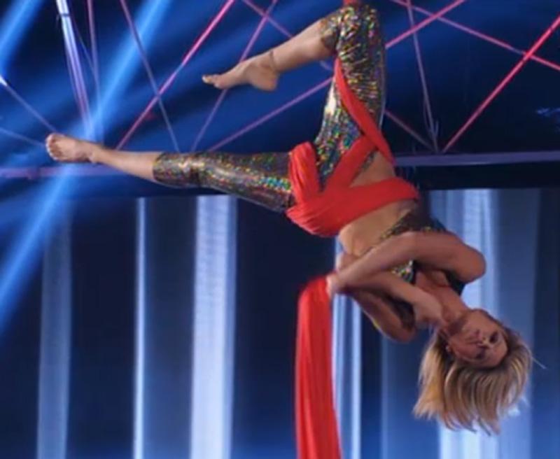 Maddalena acrobatica nella scorsa puntata