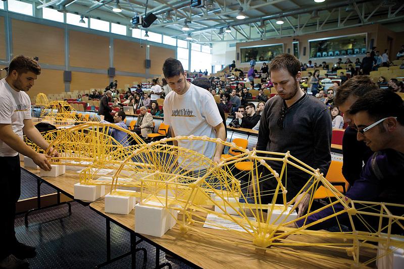 progetto medi universit spaghetti bridge