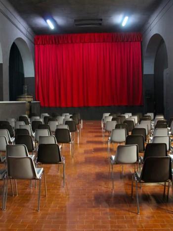 Sala teatro Spazioarte di Alezio