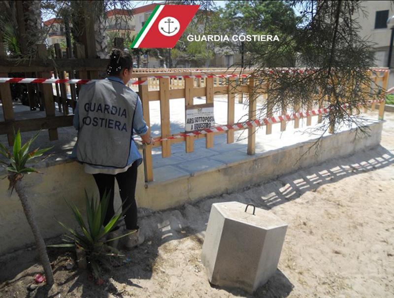 Guardia Costiera - sequestro a Rivabella