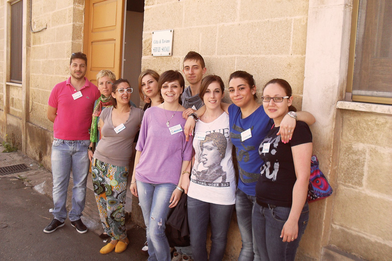 Il gruppo del Servizio Civile