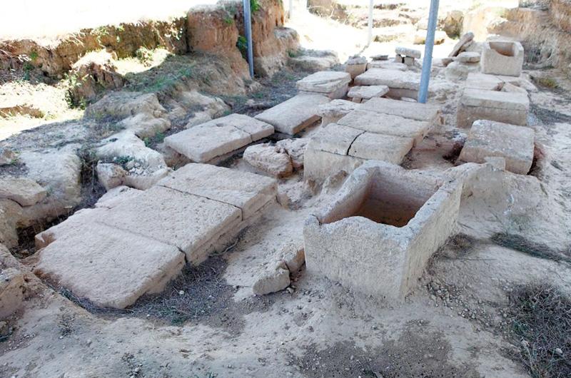 I reperti archeologici nella foto di Massimo Negro