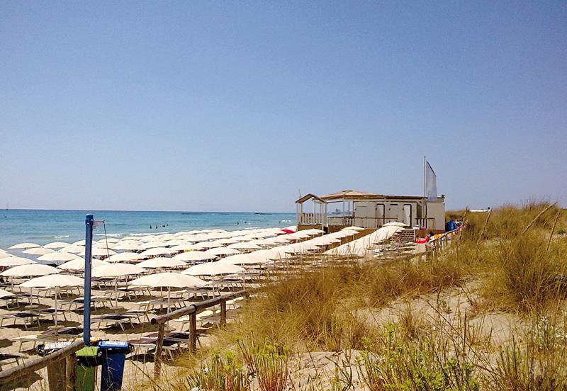 spiaggia  Torre San Giovanni