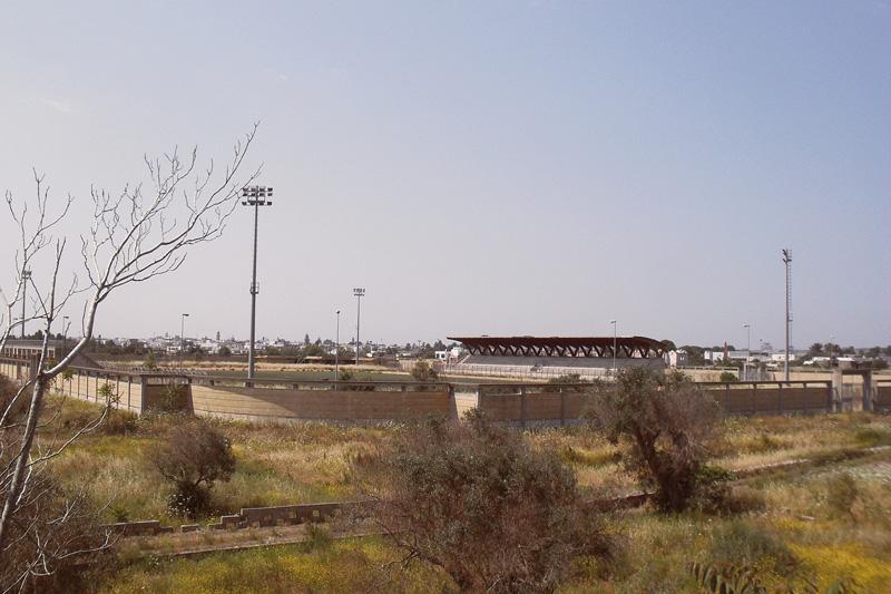 L'impianto sportivo incompleto