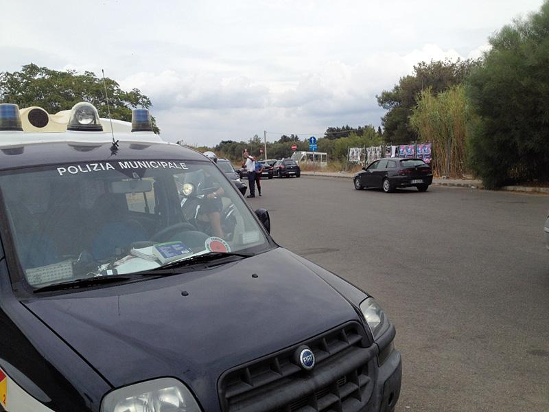 vigili polizia municipale gallipoli