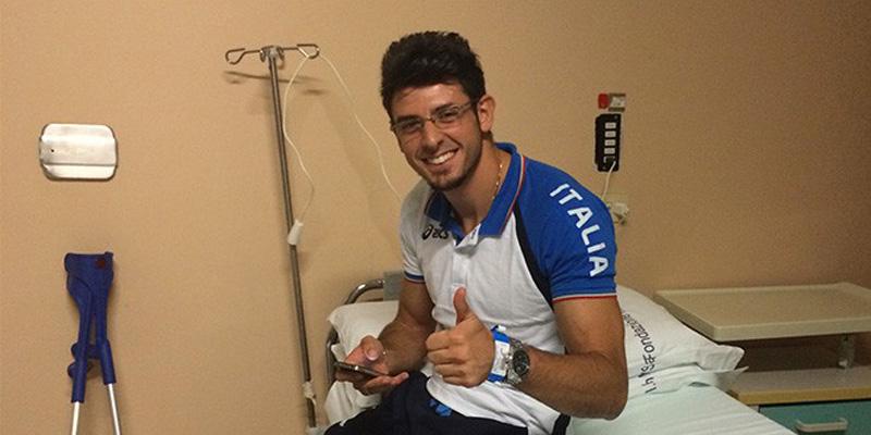 Daniele Greco operato a Pavia 13.8.2014