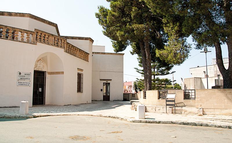 Museo messapico Alezio - foto Emiliano Picciolo