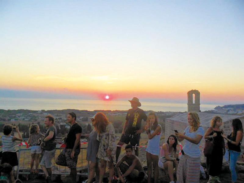 tramonto a San Mauro 2013