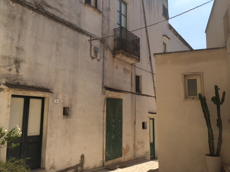 Le corti di via XXIV Maggio nel centro storico