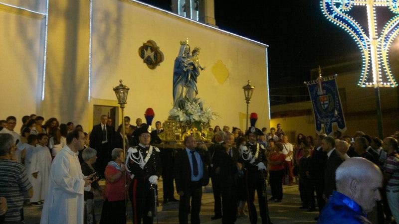 La processione dello scorso anno