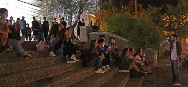 Scorcio dell'assemblea del 25 settembre scorso a Nardò