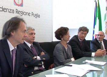 Comune, Regione  e azienda tedesca a Bari