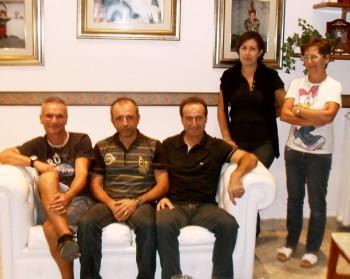 Da sinistra: Jean Claude Musarò, Salvatore Rainò, Luigi Leopizzi, Tiziana Spennato e Lorella Schito
