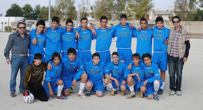 scuola calcio melissano vincenti cortese 2013-14