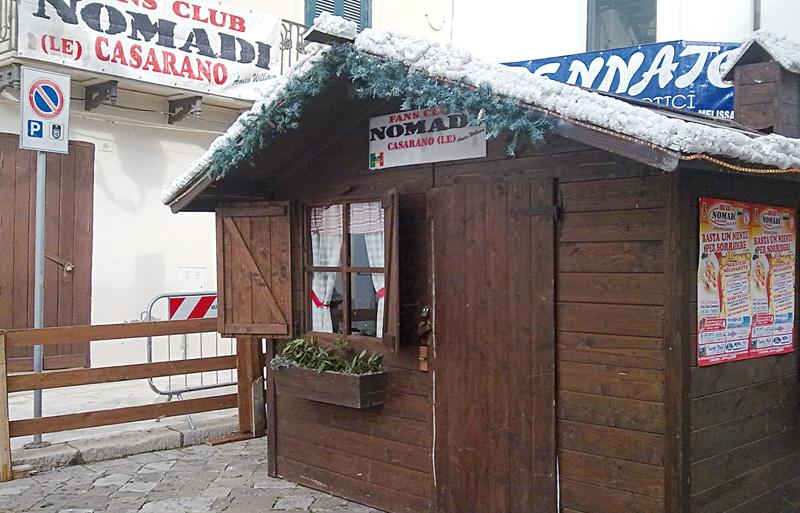 """La tradizionale """"Casetta di Babbo Natale"""": tornerà insieme  al mercatino, al trenino ed al Capodanno in piazza"""